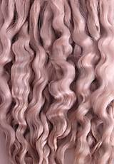 Materiál ručne robený - Vlasy pre bábiky - svetlý blond - 7650942_