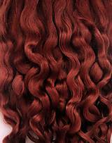 Materiál ručne robený - Vlasy pre bábiky - medeno hnedé - 7651211_