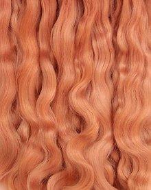 Materiál ručne robený - Vlasy pre bábiky - pšenica - 7651136_