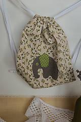 Detské tašky - #Vrecúško na prezuvky - vak - ruksak- pre deti - 7651552_