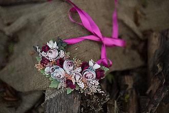 Náhrdelníky - Kvetinový náhrdelník \