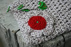 Taštičky - vrecúško kvetinka 2 - 7650591_