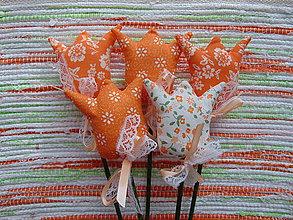 Dekorácie - Tulipány v oranžovom - 7647652_