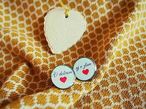 Šperky - Manžetky na svadbu