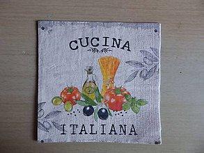 Papier - olivy, špagety.... - 7651074_
