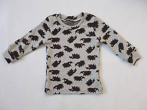 444bd2768c94 Merino tričko hnedý ježko - veľkosť 86 92   eponita - SAShE.sk ...
