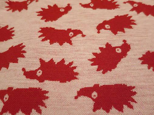 34e36ca48 Merino kukla červený ježko - veľkosť 46 / eponita - SAShE.sk ...