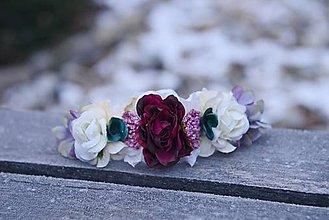 Ozdoby do vlasov - AKCIA polvenček by michelle flowers - 7652054_