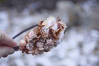 Ozdoby do vlasov - čelenka by michelle flowers - 7652071_