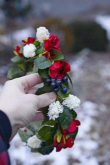 Ozdoby do vlasov - venček by michelle flowers - 7652076_