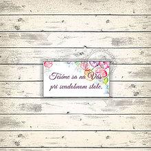 Papiernictvo - Vodou maľované - svadobná pozvánka - 7652558_