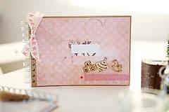 Papiernictvo - Detský fotoalbum - ružový - 7654111_