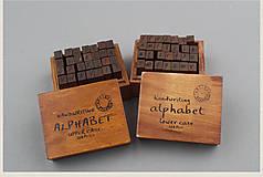 Pomôcky/Nástroje - Pečiatky - Veľká a malá abeceda  (Veľká abeceda) - 7655007_