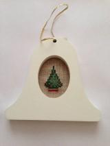 Dekorácie - Vianočná ozdoba zvonček - 7654829_