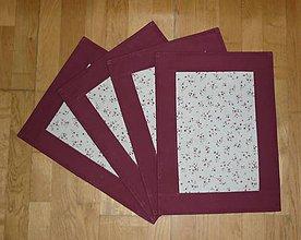 Úžitkový textil - Prestieranie - dva varianty - 7652397_