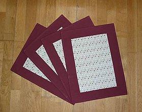 Úžitkový textil - Prestieranie - dva varianty (bodkami) - 7652446_
