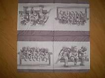 Papier - Servítka Anjeli - 7653474_