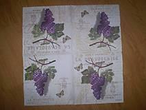 Papier - Servítka  Hrozno - 7653561_