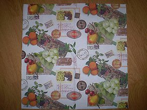 Papier - Servítka Ovocie - 7653541_
