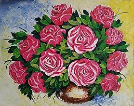 Obrazy - Ruže 3 - 7654978_