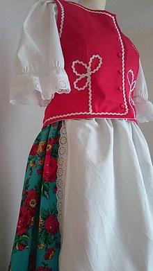 Iné oblečenie - Dámsky folklórny odev - 7656495_