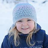 Detské čiapky - Háčkovaná čiapočka ...