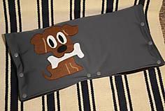Textil - softshellový rukávnik na kočík - 7658361_