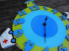Hodiny - hodiny...veľkééé 42cm - 7659662_