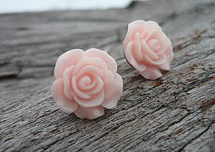 Náušnice - Náušnice Růžičky Sweet Rose napichovačky (NEREZOVÉ) - 7660099_