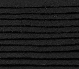 Textil - F4 - Filc - 20x30 cm, hrúbka 1 mm - čierna - 7656089_