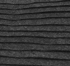 Textil - F32 - Filc - 20x30 cm, hrúbka 1 mm - šedo-čierna - 7656100_
