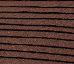 Textil - F6 - Filc - 20x30 cm, hrúbka 1 mm - hnedá - 7657260_