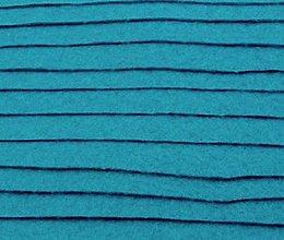 Textil - F19 - Filc - 20x30 cm, hrúbka 1 mm - modrá, neon - 7658341_