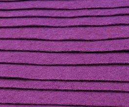 Textil - F10 - Filc - 20x30 cm, hrúbka 1 mm - fialová - 7658731_