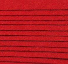 Textil - F7 - Filc - 20x30 cm, hrúbka 1 mm - červená - 7659278_