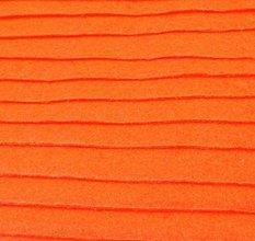 Textil - F16 - Filc - 20x30 cm, hrúbka 1 mm - oranžová, neon - 7659310_
