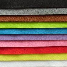 Textil - Filc - 20x30 cm, hrúbka 1 mm, mix1 - 10 ks - 7659360_