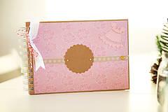 Papiernictvo - Detský fotoalbum - ružový - 7657641_