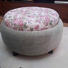 Úžitkový textil - N´JOY sedák - ruže vintage puf - 7656118_