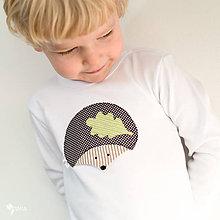 Detské oblečenie - body JEŽKO JOŽKO (dlhý/krátky rukáv) - 7660207_