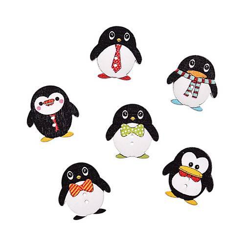 Gombík pinguin