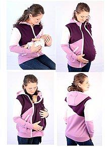 Mikiny - 4v1 MIKINA - dojčiacia, tehotenská, nosiacia a normal - 7656132_