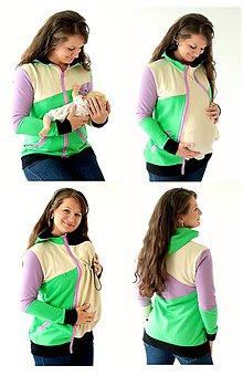 Mikiny - 4v1 MIKINA - dojčiacia, tehotenská, nosiacia a normal - 7656168_