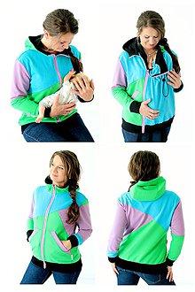 Mikiny - 4v1 MIKINA - dojčiacia, tehotenská, nosiacia a normal - 7656201_