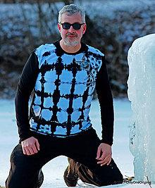 Tričká - Pánske tričko, šité, batikované, maľované, etno VIDMO - 7656740_