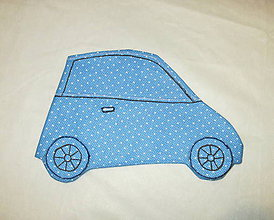 """Detské tašky - pastelkovník peračník (""""autíčko"""") - 7659885_"""