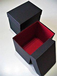 Krabičky - krabička vystlaná filcom - 7658576_