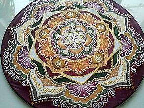 Dekorácie - Mandala empatie a rovnováhy - 7657235_