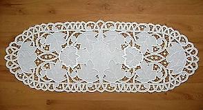 Úžitkový textil - Hrozno, prestieranie - richelieu - 7656043_
