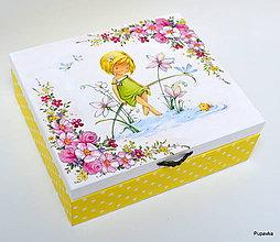 Krabičky - Šperkovniča pre dievčatko - 7656858_